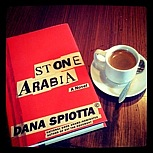 Book cover and coffee cup
